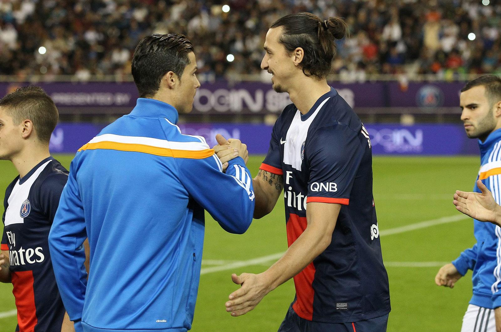 LDC - Cristiano Ronaldo élu joueur de la semaine, Zlatan Ibrahimovic 2e