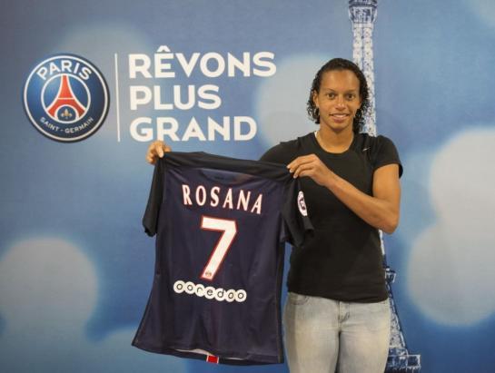 Féminines - Rosana vient renforcer l'effectif des Parisiennes