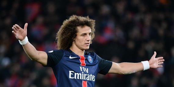 "Mercato - David Luiz ""a pris l'Eurostar mercredi après-midi en direction de Londres"", selon Le Parisien"