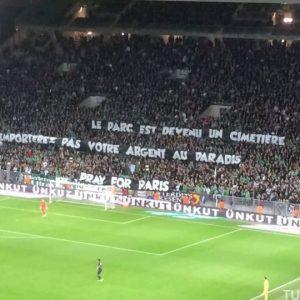 L'amende de l'AS Saint-Etienne pour les banderoles face au PSG réduite à 5000€