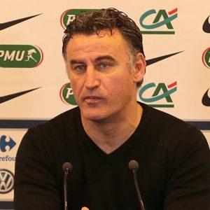 Christophe Galtier ASSE-PSG