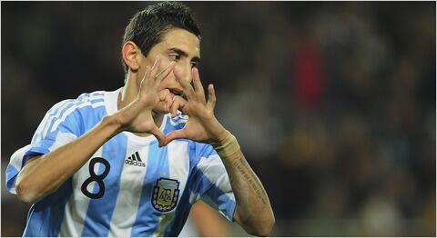 Di Maria marque un très beau but lors de la victoire de l'Argentine contre le Chili
