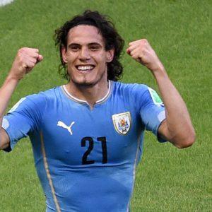 Edinson Cavani sélectionné avec l'Uruguay
