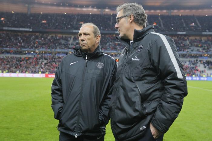 Jean-Louis Gasset et Laurent Blanc
