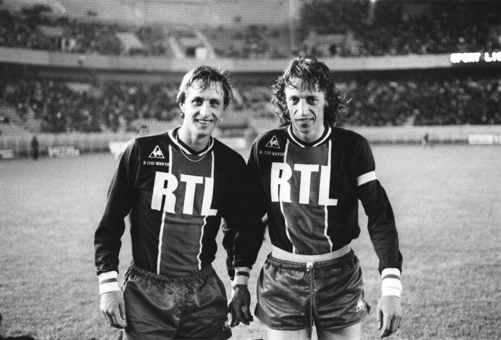 Johan Cruyff, légende du football qui a joué un match au PSG, est décédé aujourd'hui