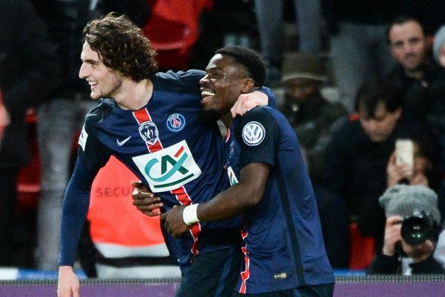 """CDF - Lorient / PSG, Aurier """"On voulait tous aller en finale"""""""