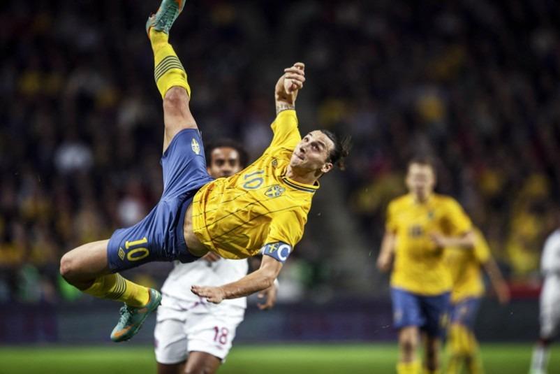 """Zlatan """"chez lui"""" en France, rien à dire sur Manchester United"""