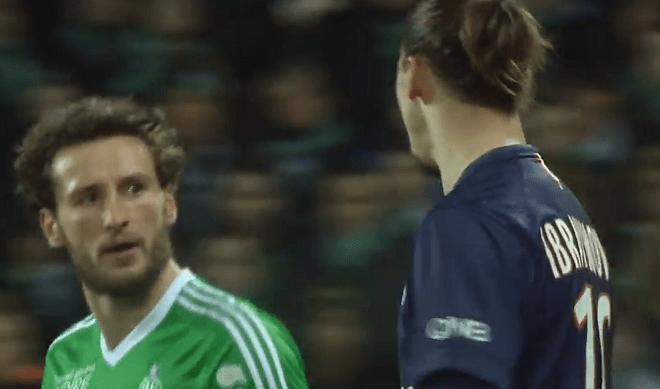 """L1 - Baysse revient sur son altercation avec Ibrahimovic """"il l'a pris avec le sourire"""""""