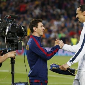 Lionel Messi + Zlatan Ibrahimovic