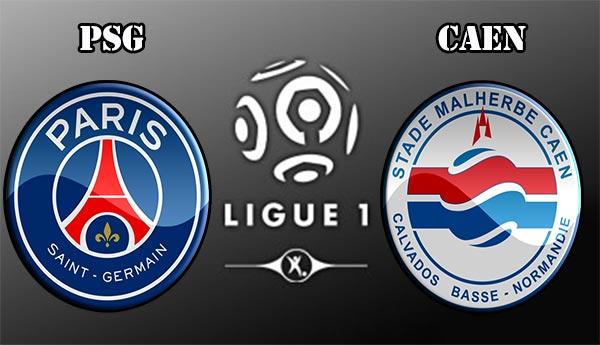 PSG-Caen ligue1