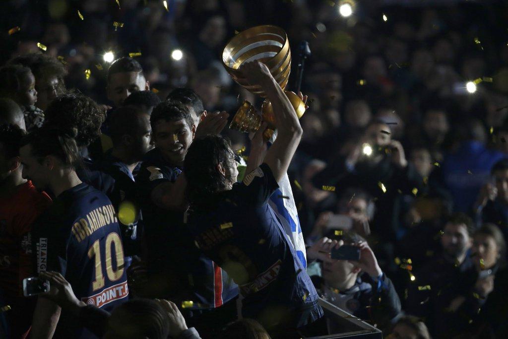 PSG vainqueur coupe de la ligue 2016