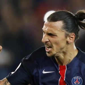 Ibrahimovic présélectionné au titre de meilleur joueur du mois d'avril de Ligue 1