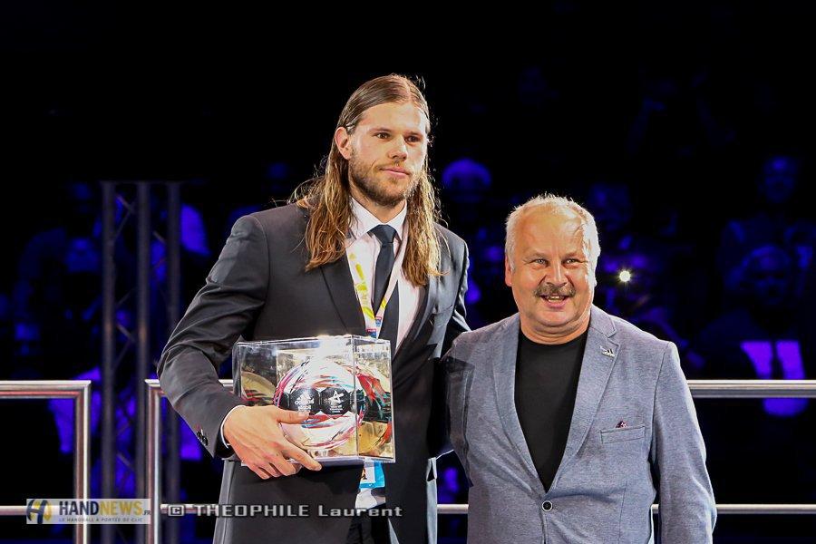 Hand- Mikkel Hansen sacré meilleur buteur de l'EHF