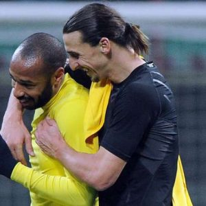 Thierry Henry + Zlatan