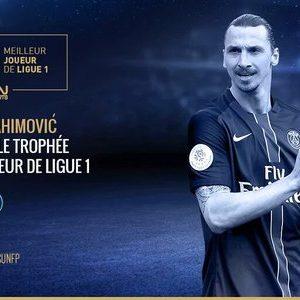 Ibrahimovic, le trophée UNFP C'est une preuve de domination durant mes années en France