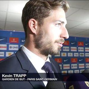 Kevin Trapp zone mixte PSG