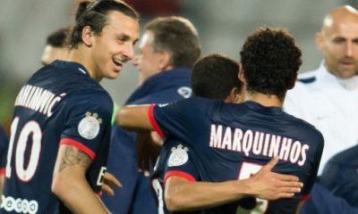 Zlatan Ibrahimovic et Marquinhos supervisés par Manchester United