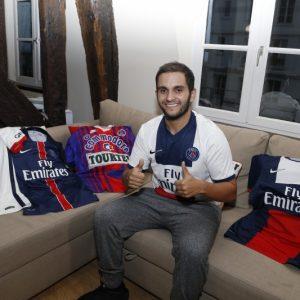 Malik Bentalha supporter PSG