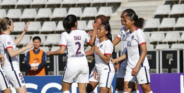 PSG Feminine victoire La Roche sur Yon