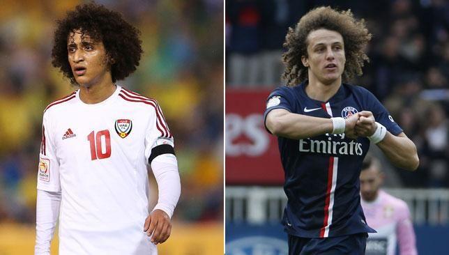 David Luiz + Omar Abdulrahman