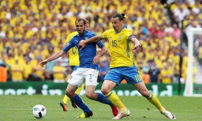 Euro 2016 - Chiellini répond à Ibrahimovic, dont il apprécie l'humour