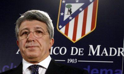 """Le président de l'Atlético rassurent ses supporters pour Simeone """"vous pouvez dormir tranquilles"""""""