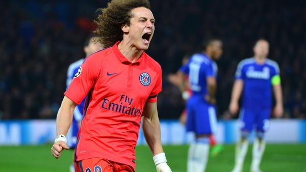 """Le PSG """"remercie David Luiz pour son professionnalisme et son extrême disponibilité envers les supporters"""""""