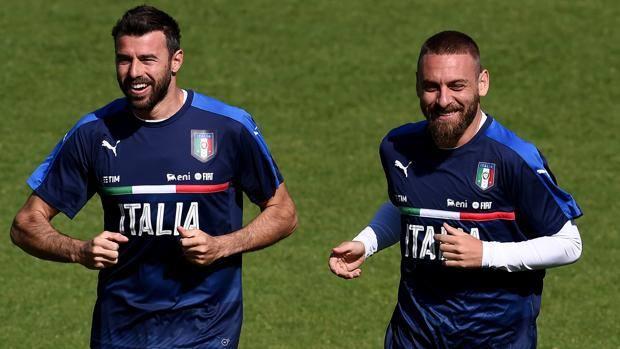 """Conte a préféré l'expérience de """"De Rossi et Thiago Motta"""" selon l'agent de Jorginho"""