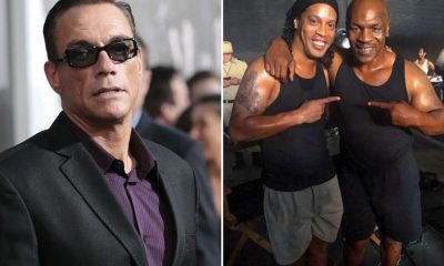 Ronaldinho au casting du prochain film de Jean-Claude Van Damme
