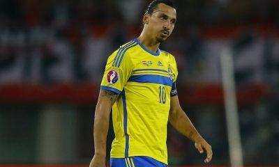 """Ibrahimovic """"Le dernier match de la Suède à l'Euro sera mon dernier match avec la Suède"""""""
