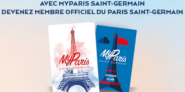 Le PSG lance My Paris, sa carte de supporter officiel