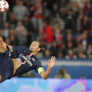 Zlatan Ibrahimovic retourné acrobatique PSG