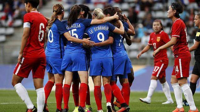 Féminines – France/Chine 3-0, les Bleues sont prêtes pour JO