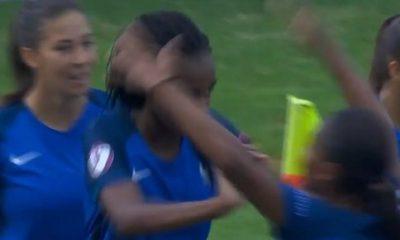 Féminines - L'Equipe explique pourquoi Katoto a poussé Morroni avec les Bleuettes