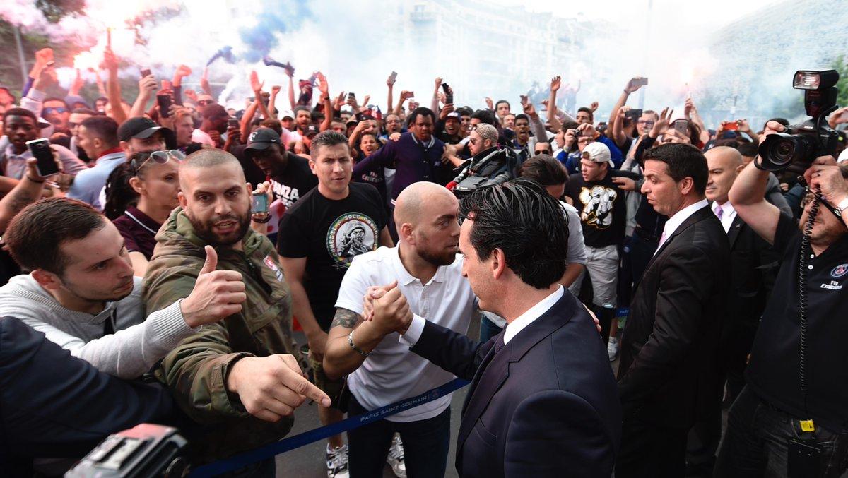"""Unai Emery """"le foot n'est rien sans les supporters"""""""