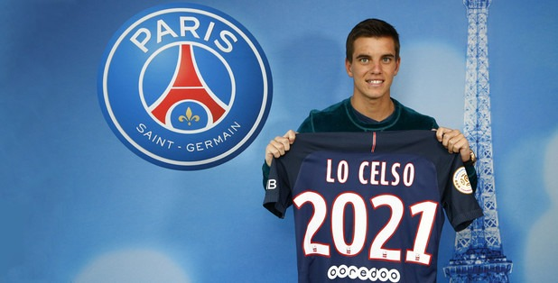 Le PSG officialise la signature de Lo Celso, un contrat jusqu'en 2021!