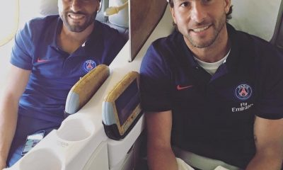 Les images partagées par les joueurs du PSG ce jeudi : Voyage vers Los Angeles