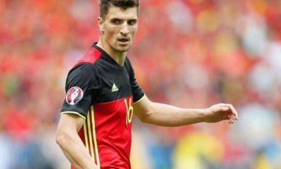 Thomas Meunier sélectionné avec la Belgique