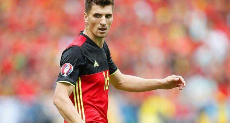 """Thomas Meunier """"fier"""" d'être sélectionné avec la Belgique"""
