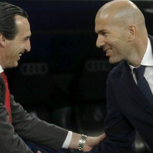 """PSG/Barça - Zidane """"Ce sera un grand match...Barcelone, je ne sais pas comment les battre"""""""