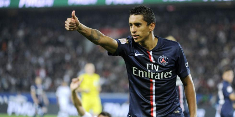 """Marquinhos """"mon contrat n'est toujours pas prolongé, mais je suis bien à Paris"""""""