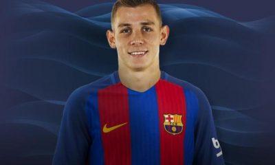 Le vestiaire du Barça doute du recrutement de Lucas Digne, selon Don Balon