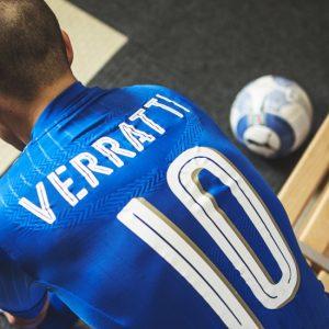 Marco Verratti appelé avec l'Italie, Thiago Motta et Salvatore Sirigu laissés de côté
