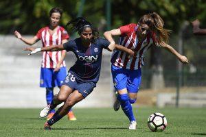 Féminines - Les Parisiennes terrassent l'Atletico Madrid et continuent de monter en puissance