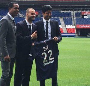 Jesé Rodriguez portera le numéro 22 au PSG, Odsonne Edouard est donc bien sur le départ
