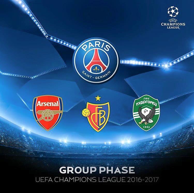 LDC – Les listes de joueurs d'Arsenal, Bâle et Ludogorets
