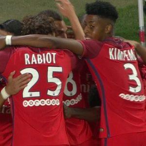 Les images partagées par les joueurs du PSG ce vendredi victoire à Bastia!