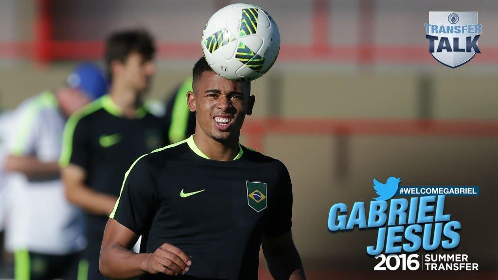 Mercato - Gabriel Jesus a signé à Manchester City, c'est officiel