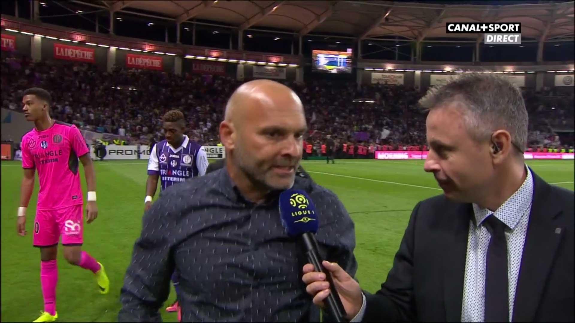 Pascal Dupraz Toulouse/PSG