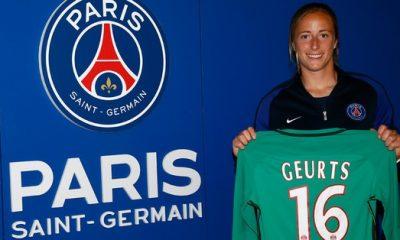 """Féminines - Le PSG officialise la venue de Loes Geurts """"très honorée de rejoindre cette institution"""""""